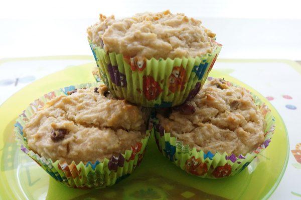 Pastinaken-Muffins